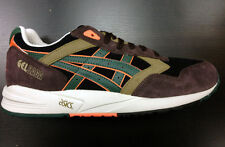 Asics Gel Lyte Saga II Black Green Dark Brown Pata  III 3 Ship Worldwide