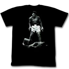 Muhammad Ali Over Liston Officially Licensed Authentic Adult Slim-Fit T-Shirt