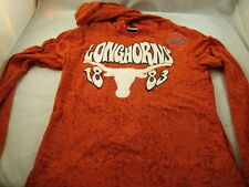 NEW Texas Longhorns girls hooded long sleeve shirt licensed NCAA New w/tags