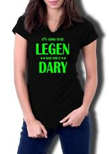 T-Shirt How I Met Your Mother It's Going To Be Legen Wait For it Dary Damen NEU