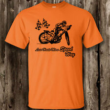 Less Haste More Speedway Mens T Shirt -- Speedway Clothing Motor Sport Driving