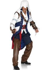 Brand New Adult Men's Assassin's Creed Connor Video Game Outfit Adult Costume
