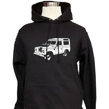 Land Rover Series 3 - Customised Hoodie Top Hooded Sweatshirt