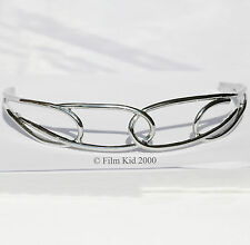ELVEN LEGOLAS SILVER CROWN TIARA CIRCLET LOTR HOBBIT LORD OF THE RINGS COSTUME