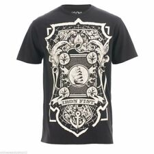IRON FIST MENS ROYAL BEARING SHORT SLEEVE CREAM/BLACK TEE T SHIRT - BLACK