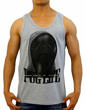 SINGLET dogs PUG LIFE TANK TOP festival hipster fresh S -XL dope swag gyms yolo