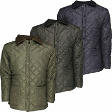 Mens Diamond Quilted Padded Soulstar Winter Jacket Coat