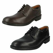 MENS CLARKS LEATHER LACE UP GORE TEX SMART FORMAL OFFICE SHOES SIZE CHILVERWALK