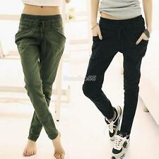 Women EA9 Sport Stretch Little Feet Harem Casual Pants Slack Sweatpants Trouser