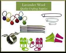 Knitting Accessories- Markers, Stitch Holder, Darning Needles or Strand Guide