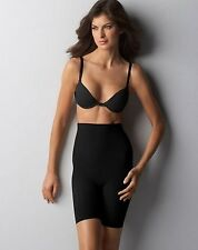 NEW Bali Invisibles Extra Firm Control Hi-Waist Thigh Slimmer B203 Black/Nude