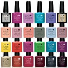 CND Shellac Nail Polish Scegli tra Colori, BASE, TOP COAT Immersione OFF UV3 GEL ♥