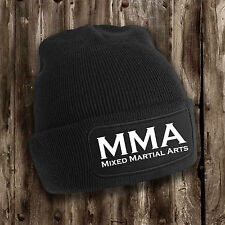 MMA Mens Beanie -- Mixed Martial Arts Clothing Cage Fighting Training