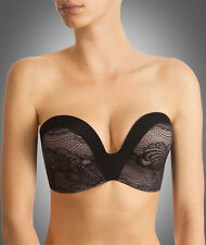 Wonderbra Ultimate Strapless Bra Lace (9469) Black/Skin