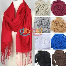 Sexy Women Warm Wool Blends Soft Scarves Long Large Wrap Scarf Shawl Tassels