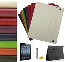 New PU Leather Case Wallet Cover Flip Stand For iPad 2 3 & 4 (Retina) Cheap UK