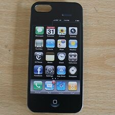 Fake Dual screen IPHONE 5 5S IPHONE 4 4S HARD CRYSTAL CASE COVER - FREE P&P