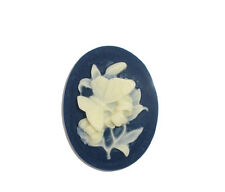 Wholesale Lots Resin Flower Oval Cabochons Embellishment Findings