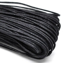 Wholesale Lots Black Waxed Jewelry Cord For Necklace/ Bracelet 2mm