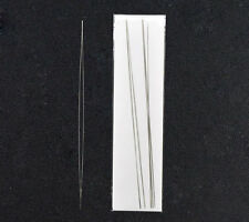 Wholesale Lots Big Eye Curved Beading Needles Easy Thread 125x0.6mm