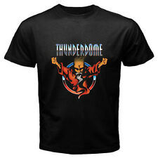 Thunderdome ID&T Hardcore Techno and Gabber Men's Black T-Shirt Size S to 3XL