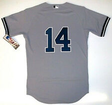 LOU PINIELLA AUTHENTIC NEW YORK YANKEES MLB MAJESTIC ROAD JERSEY MLB