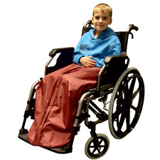 CHILDS THERMAL WHEELCHAIR THERMAL LEG COVER - WHEELCHAIR KOZEE TOES FOR CHILDREN