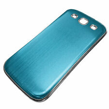 NEW Slim Battery Case Cover for the Samsung Galaxy S3 SIII Brushed with Chrome