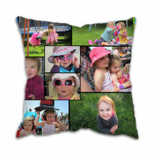Personalised Photo Collage Large Cushion