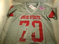 "NEW OHIO STATE BUCKEYES WOMENS JERSEY #70 BRUTUS ""bedazzled"" FREE SHIPPING!!"
