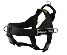 DT Universal Dog Harness with Velcro Patch DISABLED DOG