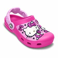 Crocs Kids Hello Kitty Candy & Ribbons Neon Magenta/Carnation