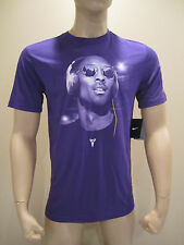 Nike Men's Kobe Bryant Beats by Dre Headphones Dri-Fit T-Shirt Tee Purple SIZES