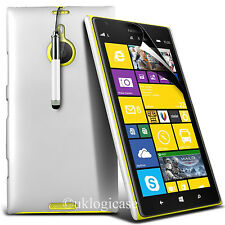 Case for Nokia Lumia 1520, Hard back with Stylus Pen + FREE Screen Protector