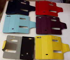 for sony xperia go st27i st 27i caller id flip case cover new  Leather pouch