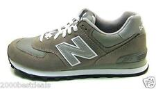 NEW BALANCE 574 COMFORTABLE MENS CLASSIC RUN GRAY SILVER SHOES UNI-SEX M574GS