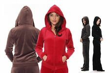Softstyle Velour Running Suit for Women - Sports Jogging Aerobic Tracksuit