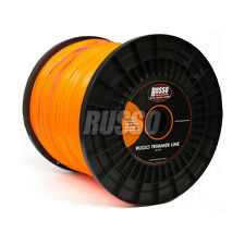 5lb .095 Nylon String Trimmer Line Spool Roll Orange Commercial Round