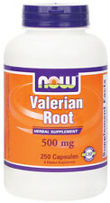 NOW Valerian Root 100 Caps OR 250 Caps OR 2oz. FREE SHIPPING!