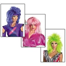 Jem Wig Costume Accessory Adult Womens Jem & The Holograms Halloween