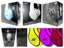 STREET by 50 Cent Wired Over-Ear Headphones by SMS Audio... NEW!