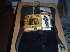AMC TV Series The Walking Dead Zombie Adult Hooded Pajamas Mens XL Halloween