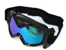 Walsoon HD 720P Motorcycle / Skiing Goggles Record Video + Camera + AV OUT