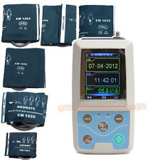 CE 24 hour Ambulatory Blood Pressure Monitor Holter NIBP SPO2 ABPM, size cuffs