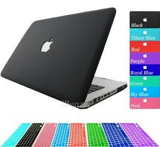 "2IN1 New Matt hard case cover + Keyboard Cover for Macbook Pro 13'' 13.3"" A1278"