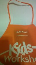 Home Depot Kids Workshop Apron - Plastic Lattice - NEW DESIGN - OLD DESIGN