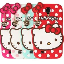 Authentic Samsung Galaxy S4 Case Hello Kitty 3D Jelly Heart Case 4Colors