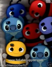 Apple iPhone 4 4S New Stitch Bee Cartoon Silicone Soft Cover Case Skin Protector