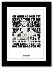 ❤  FRANK TURNER Photosynthesis ❤ song lyrics poster art  print - A1 A2 A3 or A4
