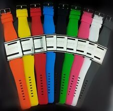 iWatchz Q2 Silicon Watch Strap and Buckle for iPod NANO 6G silver&Silicone